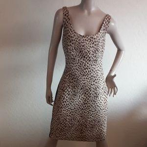 Diane von Furstenberg cheetah print dress